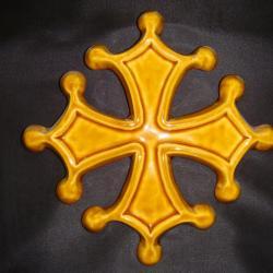 CROIX Occitane JAUNE
