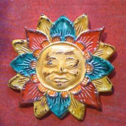 soleil décoré