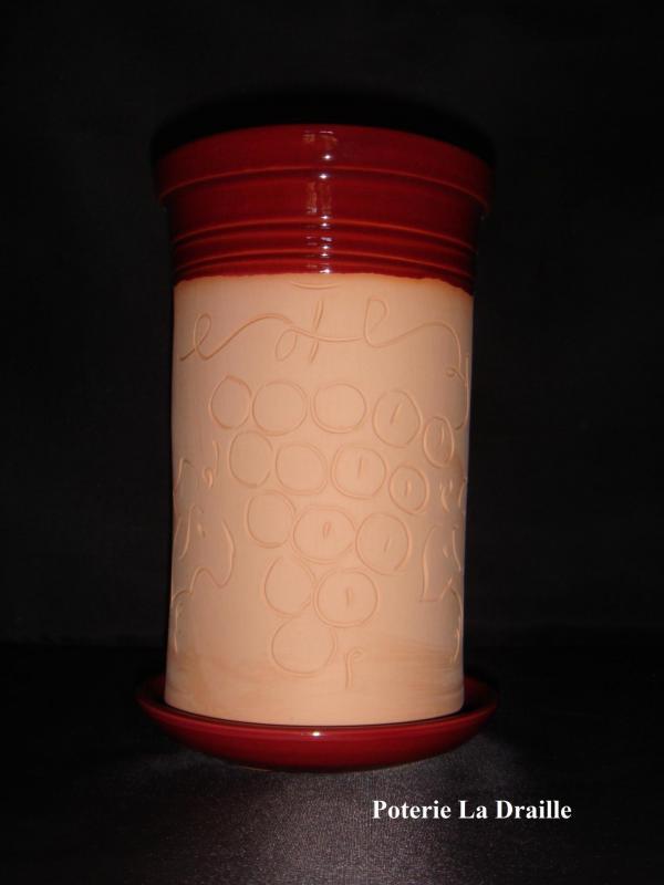 Brique a vin bordeaux (poterie la draille)
