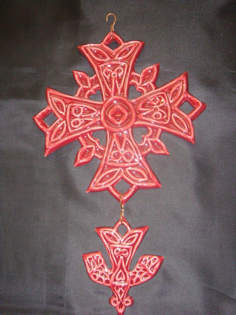 croix-hg-gm-bordeaux-  (POTERIE la DRAILLE)
