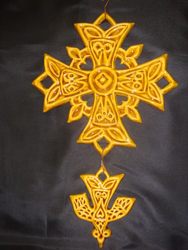 croix-hg-gm-jaune  (POTERIE la DRAILLE)