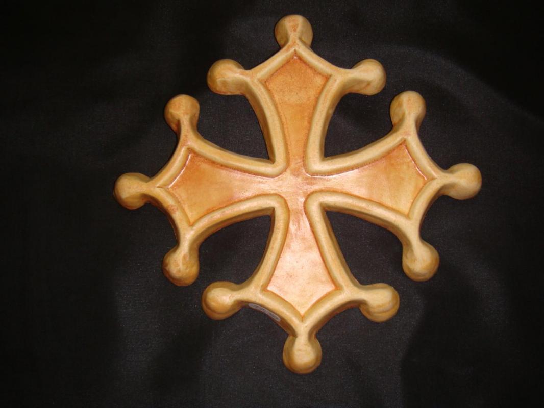croix-occitane-gres  (POTERIE la DRAILLE)