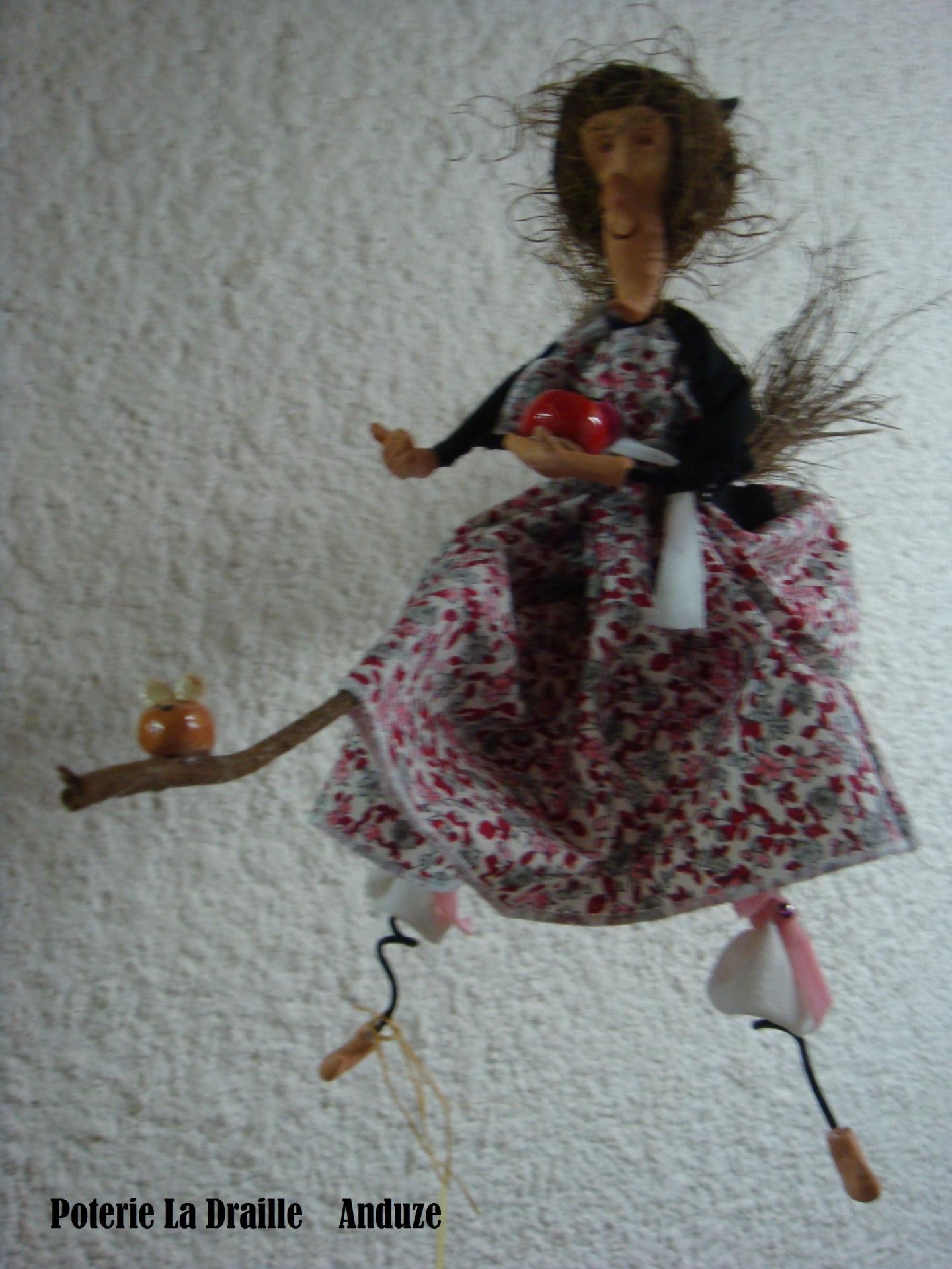 Petite sorciere n 1 rose fleur