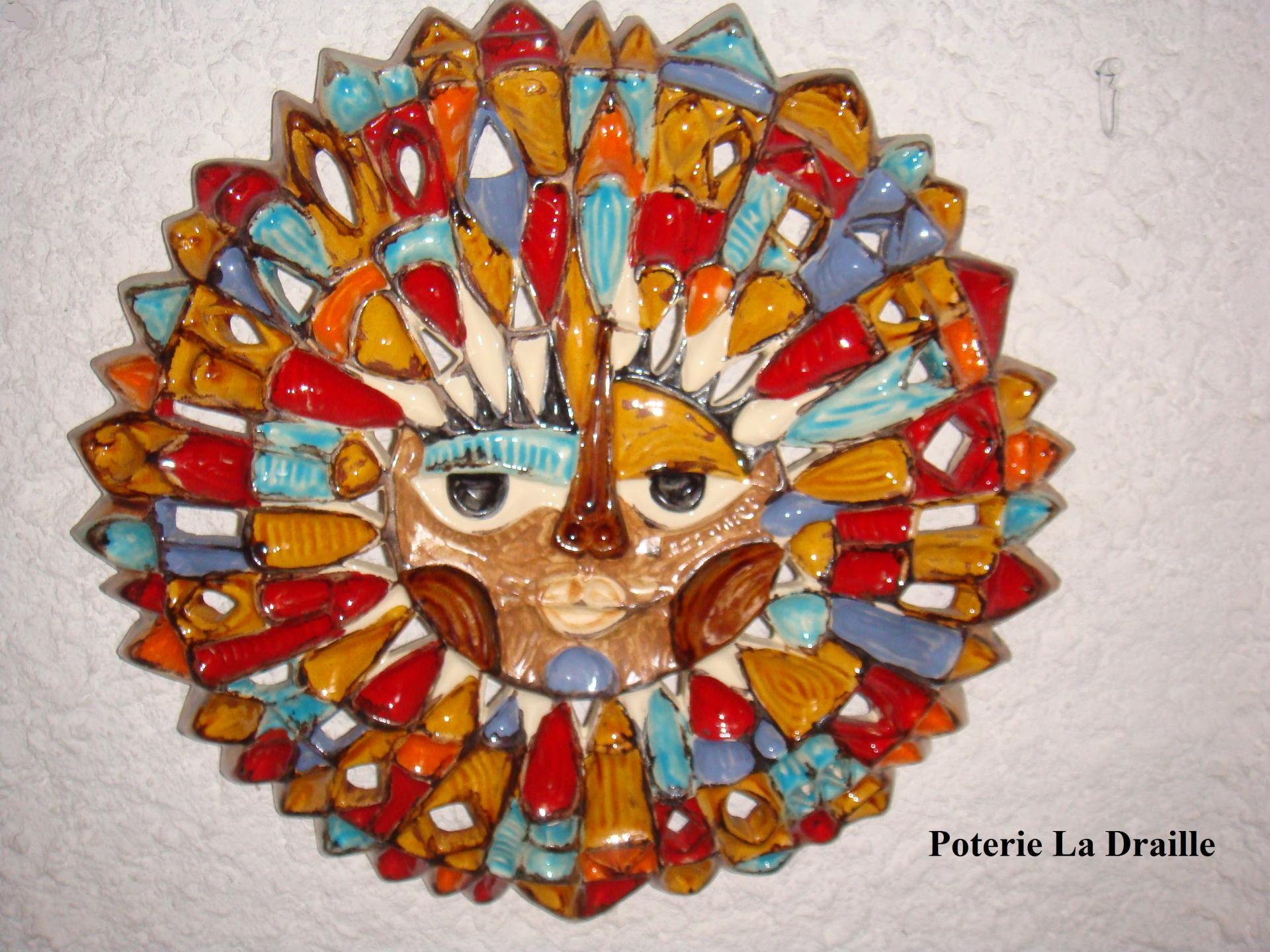 Soleil n 3 poterie la draille 1